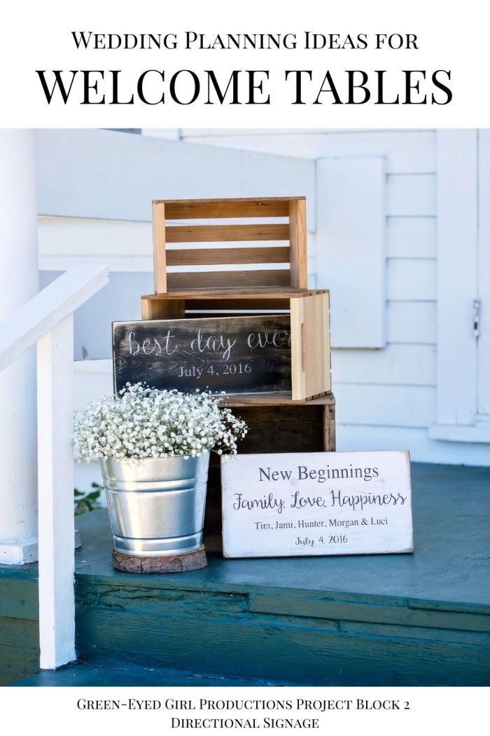 Rustic Wedding Entrance Ideas. Baby's Breath and Crates. . Your Wedding Welcome Entrance is the first thing guests see when they arrive on your big day. In this post I'm covering Wedding Welcome Sign Ideas, Fun Ceremony Props to give to guests and more Wedding Welcome Entrance Decor.