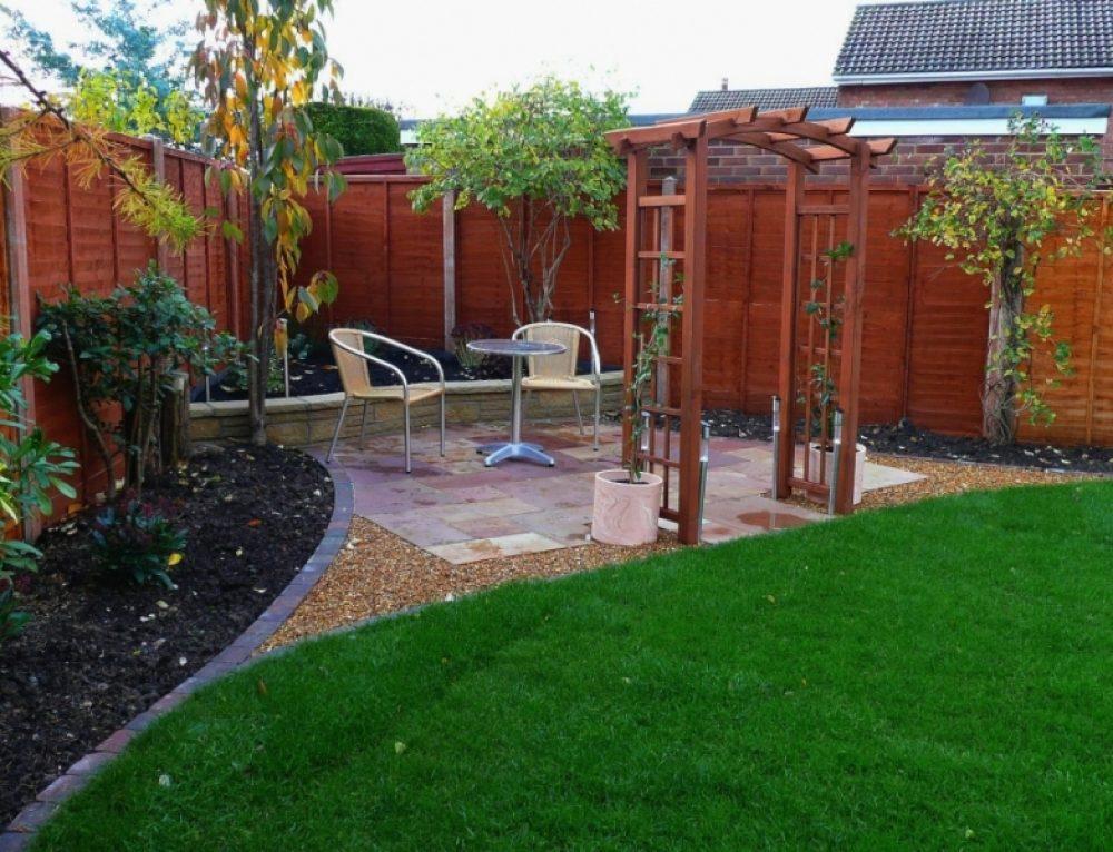 Sandstone Patio Retreat - Green Onion Landscaping on Romantic Backyard Ideas id=30604
