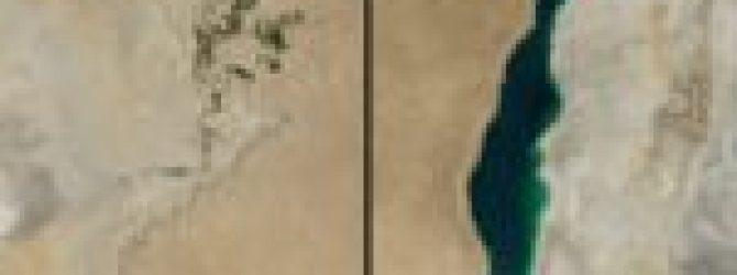 Zmiany środowiskowe - wysychanie Morza Aralskiego