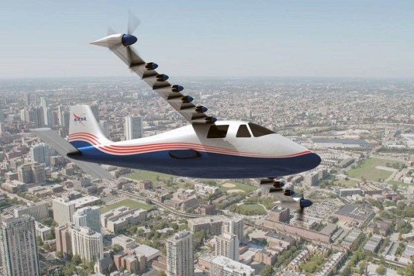 elektryczny samolot NASA X-57 MAXWELL