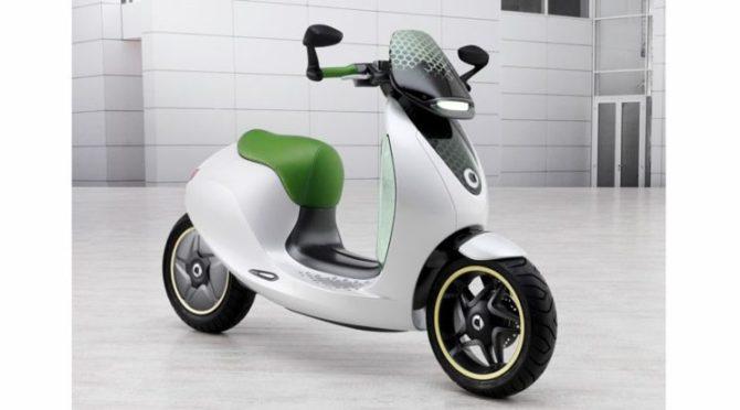 Elektryczny skuter Smart