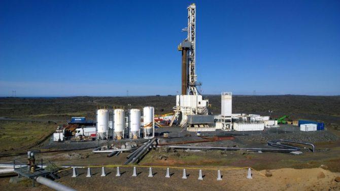 energia geotermalna islandia IDDP-2