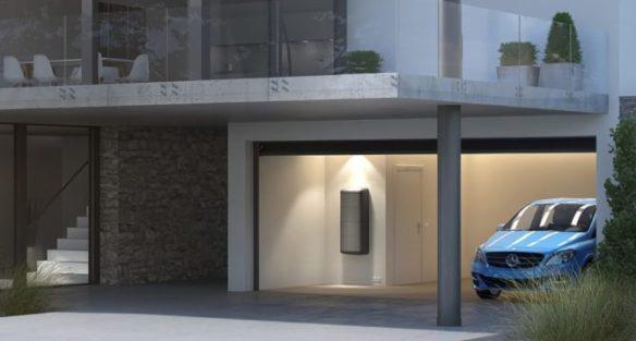 Mercedes Energy Home Storage