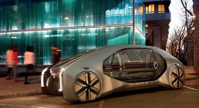 Renault EZ-GO car-sharing