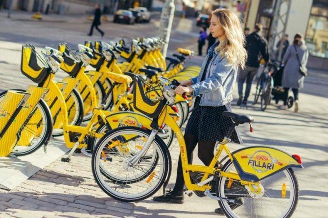 rower miejski finlandia