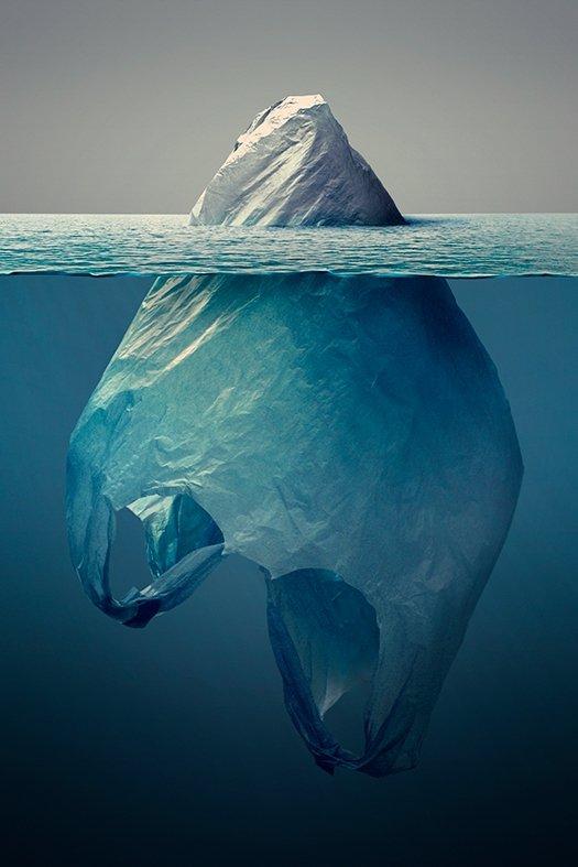 zanieczyszczenie plastikiem jorge gamboa plastic iceberg