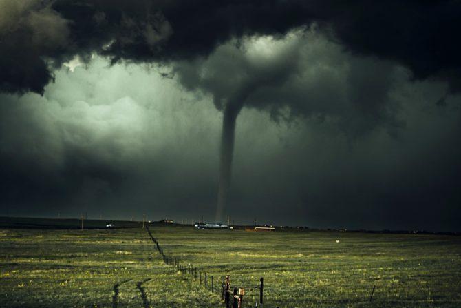 globalne ocieplenie zmiany klimatu skutki tornado