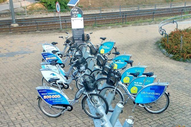 stacja rowery miejskie nextbike