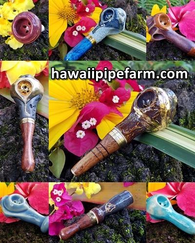 Hawaii Pipe Farm - Hawaii Pipe Farm Pipe Styles Image Banner 250x420