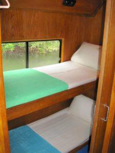 Similan snorkel liveaboard cabin
