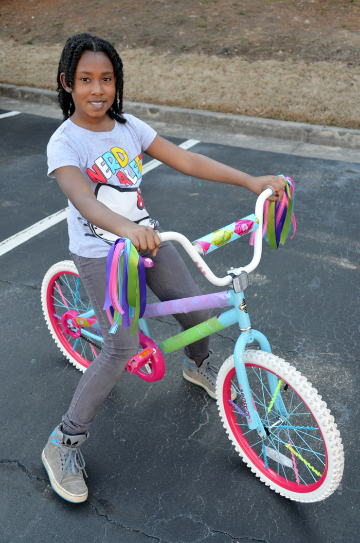 Spring Break DIY Idea  Decorate Your Kid s Bike  If these ideas don t tickle your fancy  I can think of a handful of other  ways you could spruce up your bike with items from Walmart s craft or bike