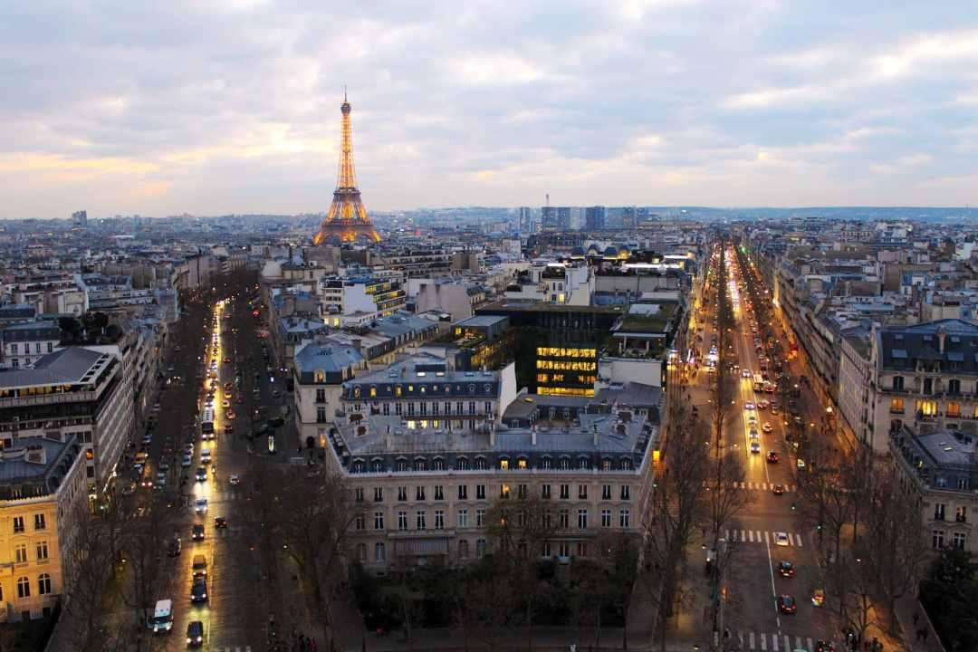 best views in Paris arc de triomphe