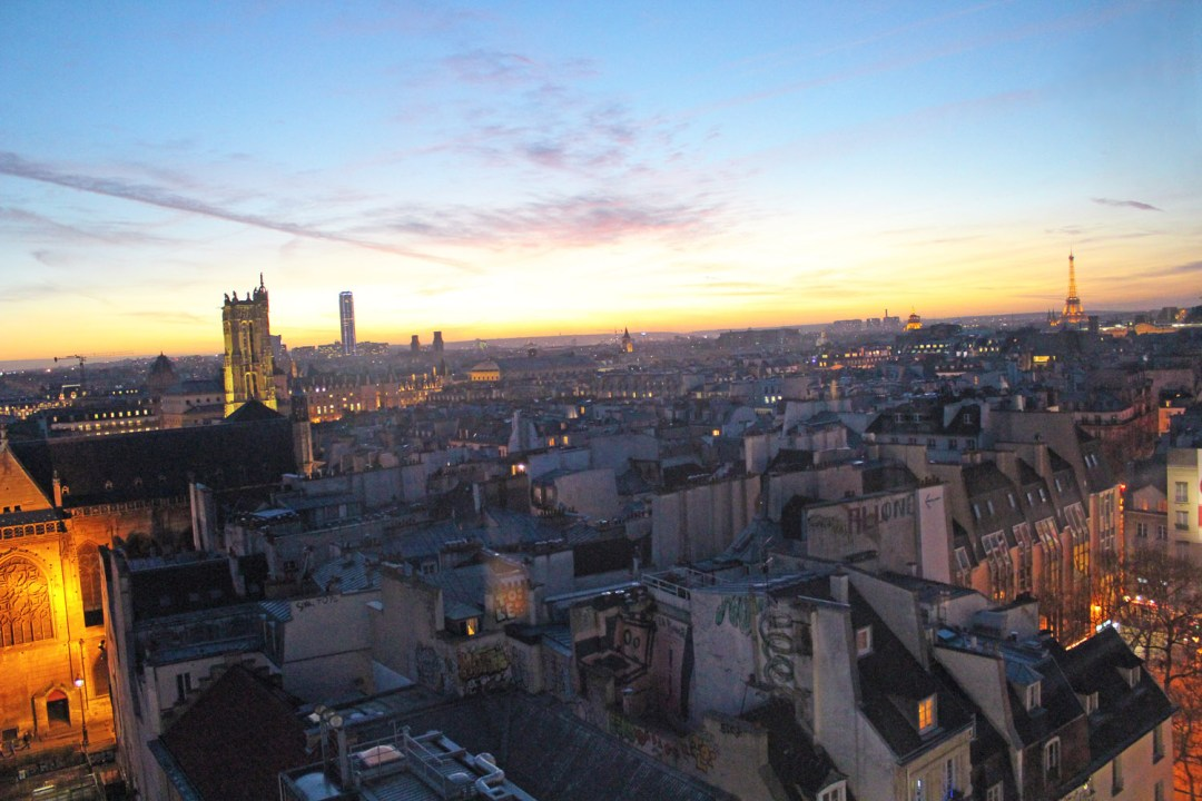 best views in Paris Centre Pompidou
