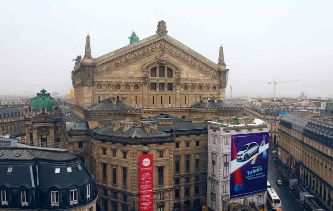 best views in Paris lafayette