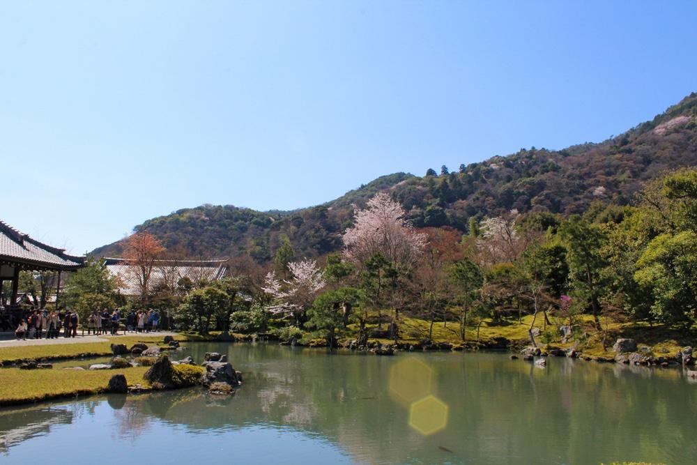 Tenryu-ji Temple garden arashiyama-sagano