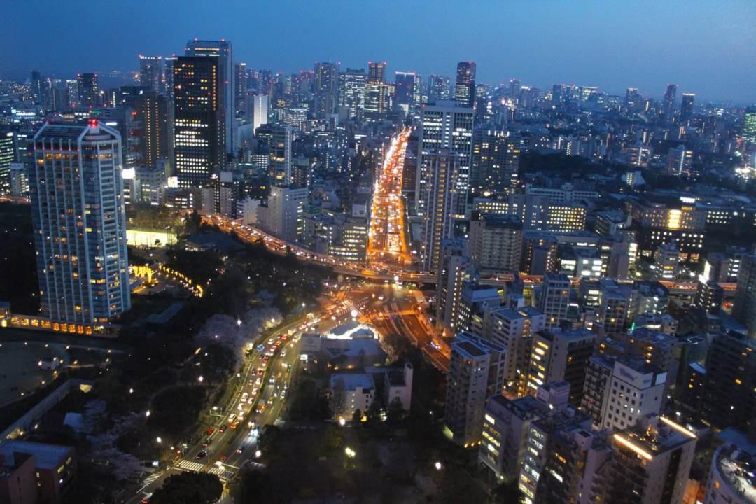 tokyo skyline cityscape