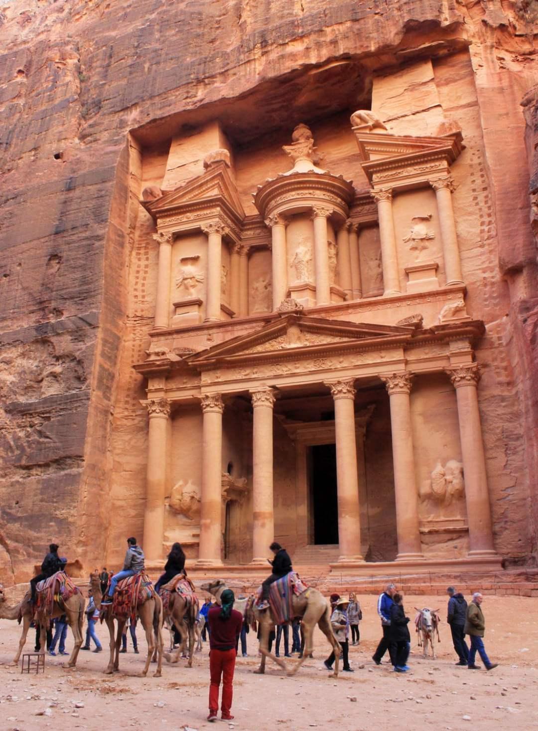 Petra Treasury Jordan A day-trip to the lost city