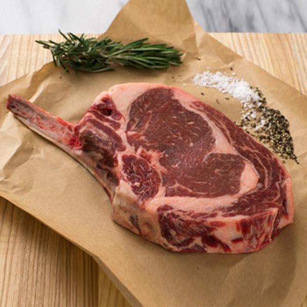 Angus Beef Rib Eye Steak Bone-In