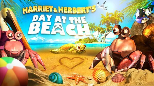 HARRIET & HERBERT'S DAY AT THE BEACH
