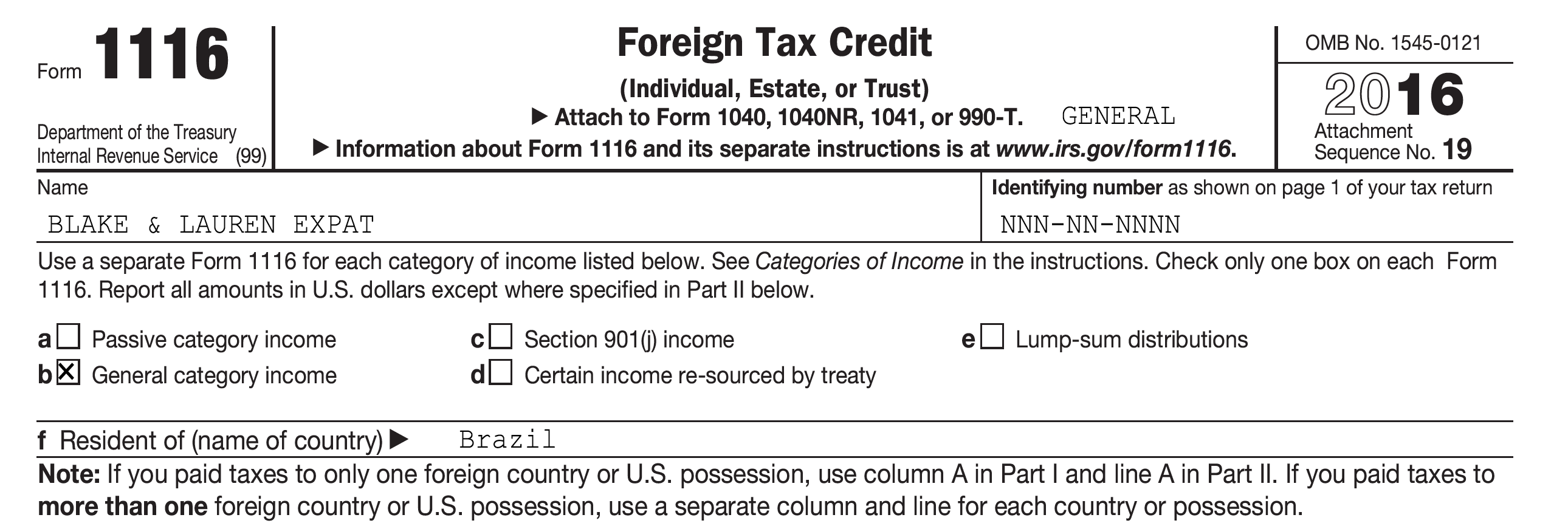 Foreign Tax Credit Amp Irs Form Explained