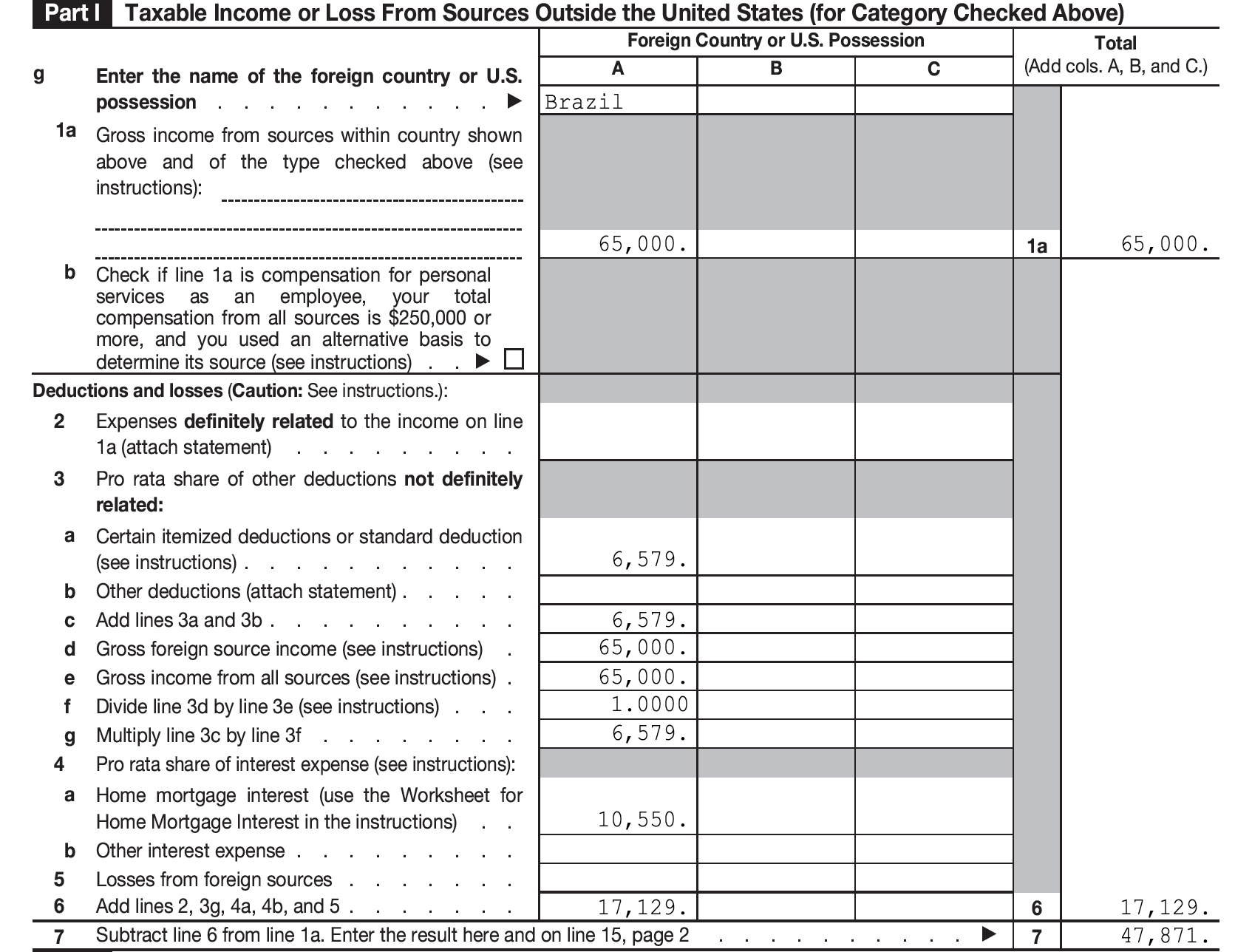 Itemized Tax Deduction Worksheet