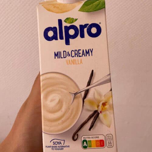 Vegan Alpro vanilla