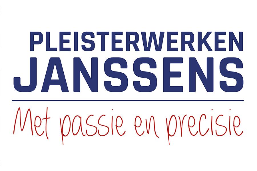 logo bestickering camionnette Pleisterwerken Janssens