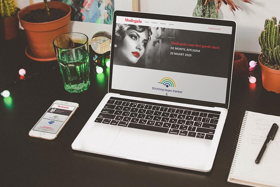 webdesign Affligem Modegala
