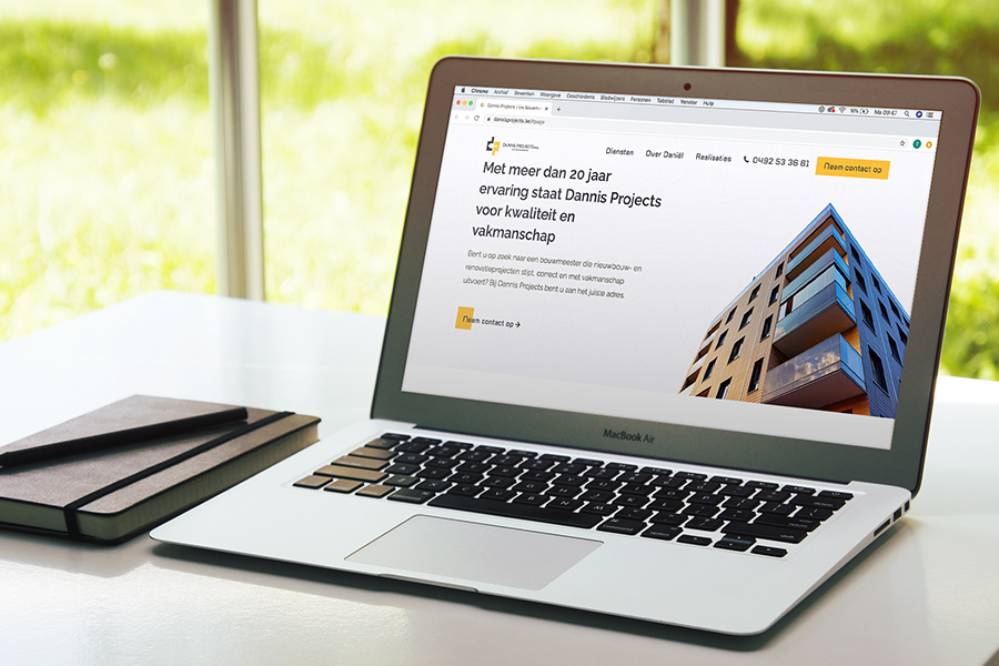 website ontwikkeling Dannis Projects