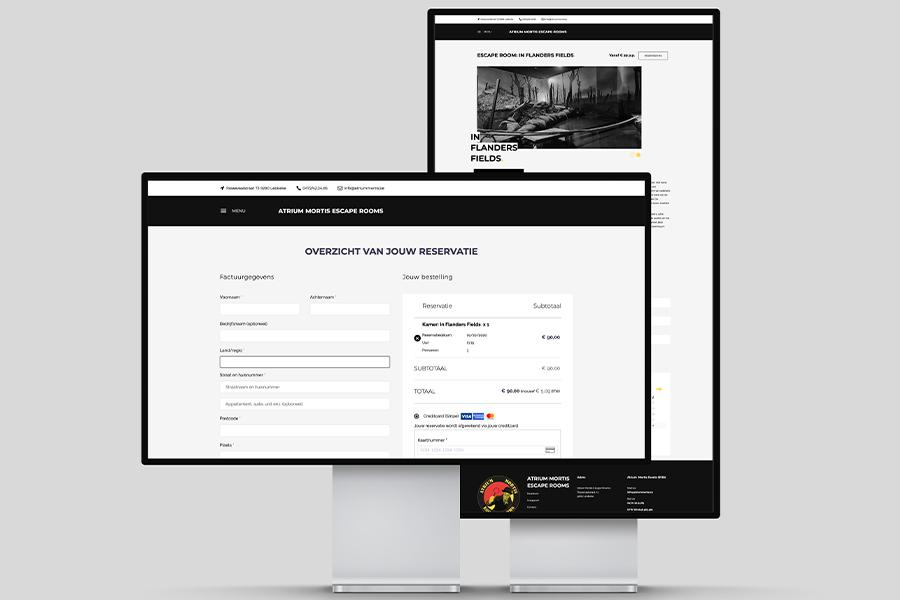 Escape Rooms website laten maken