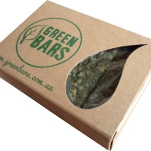 Green Bars – pack of 5 x 67g bars