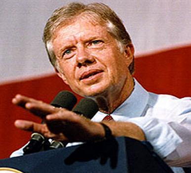Former President of US, Jimmy Carter