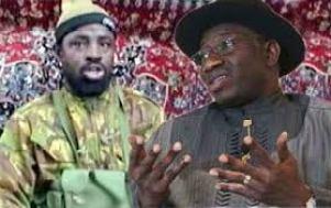 Boko Haram leader and Jonathan