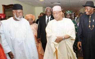 Jonathan and past leaders