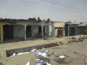 Structures Damaged by Boko Haram Activities