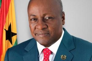 Ghana President, John Mahama