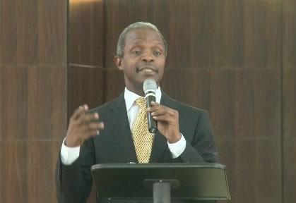 Nigeria's Vice-President , Yemi Osinbajo
