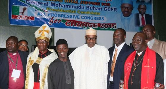 BUHARI MEET NORTHERN CHRISTIAN LEADERS 2