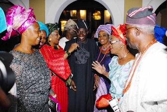 Jonathan and Lagos market women
