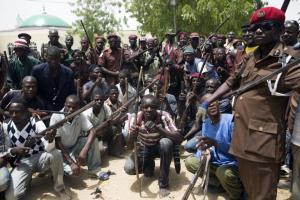 Boko Haram gather