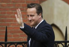 British Prime Minister, David Cameron