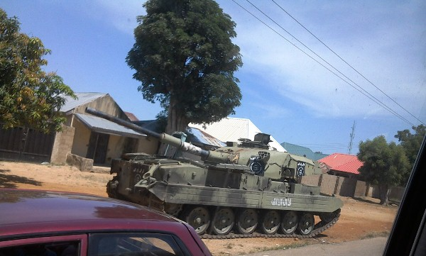 Boko Haram's armoured tanks