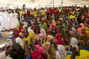 Buhari visists IDP