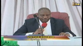 victor edoror Sacked Edo speaker