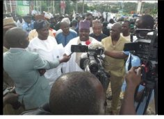 Modu Sheriff at PDP Secretariat