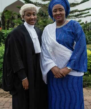 Buhari daughter and wife