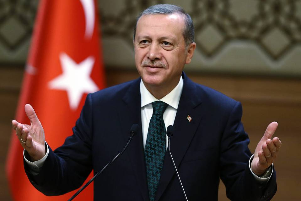 Turkey President Erdoga