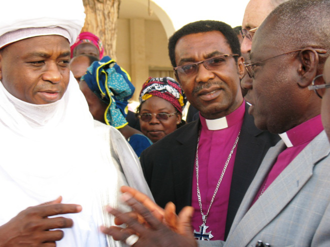 Sultan of Sokoto and some Christian leaders