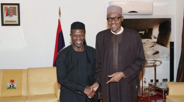 President Muhammadu Buhari and Vice President, Prof. Yemi Osinbajo