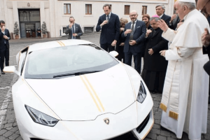 Car gift for Pope